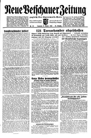 Neue Vetschauer Zeitung vom 16.10.1943
