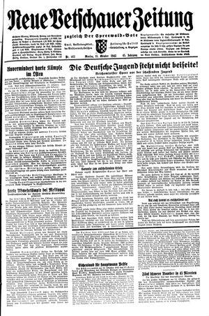 Neue Vetschauer Zeitung vom 18.10.1943