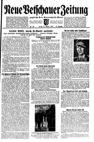 Neue Vetschauer Zeitung vom 22.10.1943