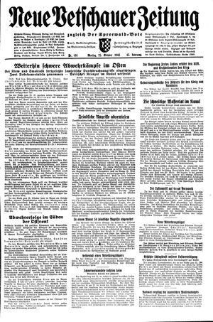 Neue Vetschauer Zeitung vom 25.10.1943