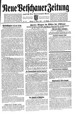 Neue Vetschauer Zeitung vom 27.10.1943