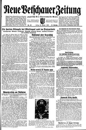 Neue Vetschauer Zeitung vom 29.10.1943