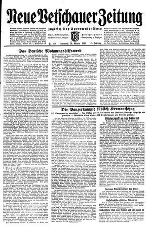 Neue Vetschauer Zeitung vom 30.10.1943
