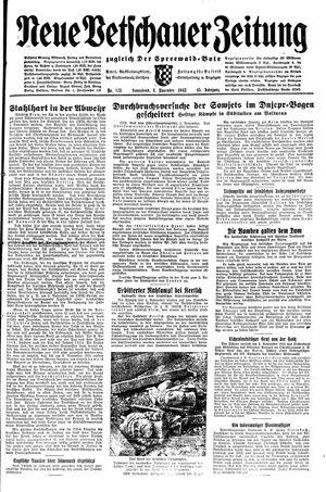 Neue Vetschauer Zeitung vom 06.11.1943