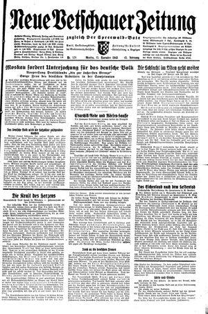 Neue Vetschauer Zeitung vom 15.11.1943