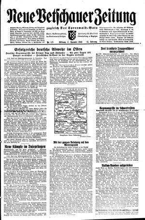 Neue Vetschauer Zeitung vom 17.11.1943