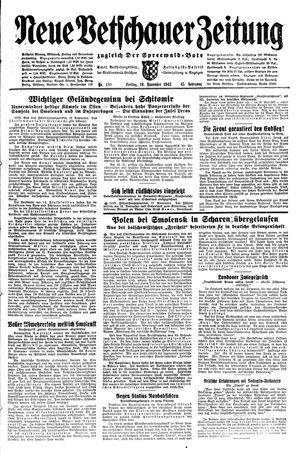 Neue Vetschauer Zeitung vom 19.11.1943