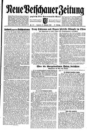 Neue Vetschauer Zeitung vom 20.11.1943