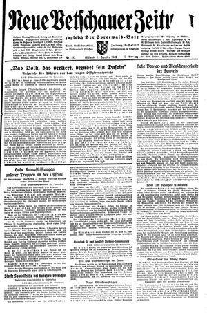 Neue Vetschauer Zeitung vom 01.12.1943