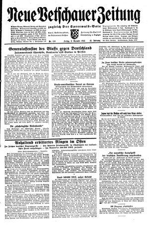 Neue Vetschauer Zeitung vom 03.12.1943