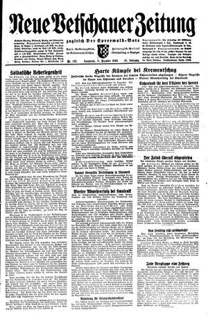 Neue Vetschauer Zeitung vom 11.12.1943
