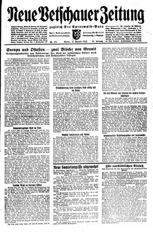 Neue Vetschauer Zeitung vom 13.12.1943