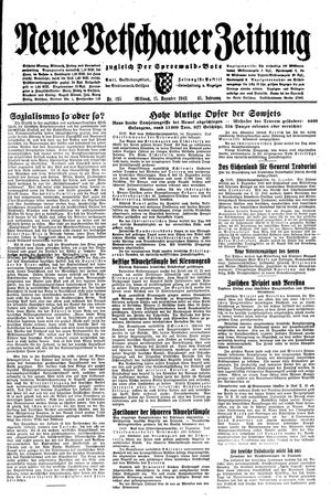 Neue Vetschauer Zeitung vom 15.12.1943