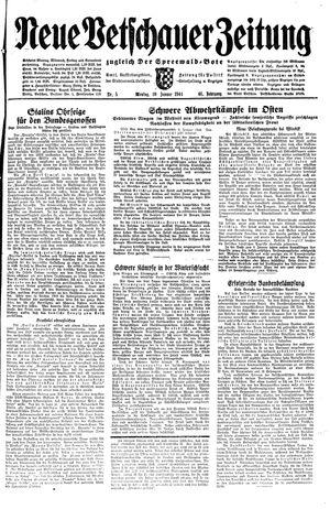 Neue Vetschauer Zeitung vom 10.01.1944
