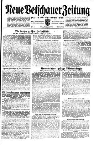 Neue Vetschauer Zeitung vom 14.01.1944