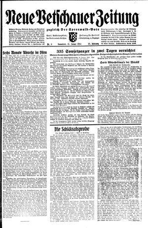 Neue Vetschauer Zeitung on Jan 15, 1944