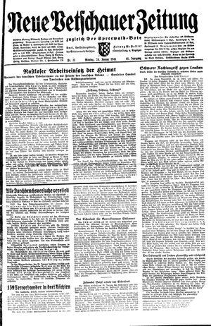 Neue Vetschauer Zeitung vom 24.01.1944