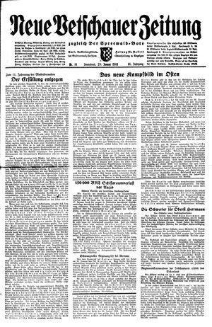 Neue Vetschauer Zeitung vom 29.01.1944