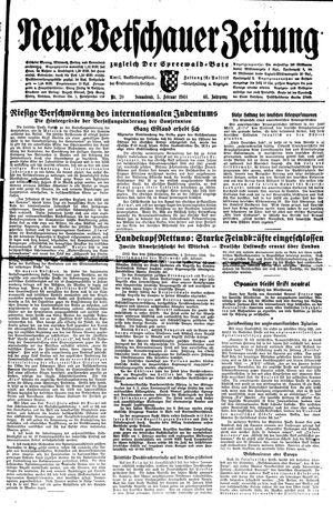 Neue Vetschauer Zeitung vom 05.02.1944