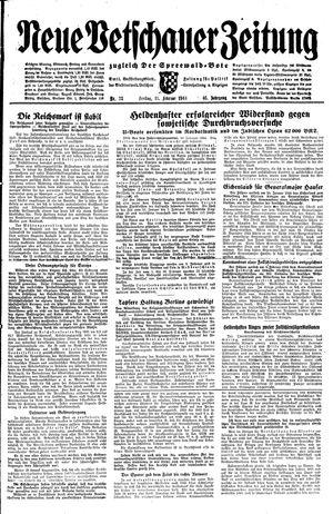 Neue Vetschauer Zeitung vom 11.02.1944