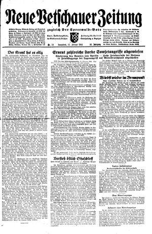 Neue Vetschauer Zeitung vom 12.02.1944