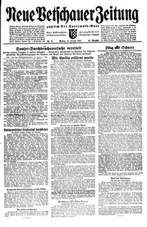 Neue Vetschauer Zeitung vom 14.02.1944