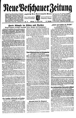 Neue Vetschauer Zeitung vom 16.02.1944