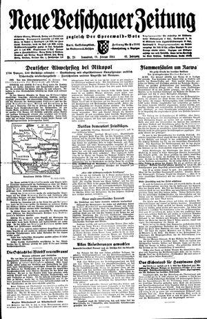 Neue Vetschauer Zeitung vom 19.02.1944