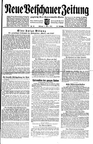 Neue Vetschauer Zeitung vom 01.03.1944