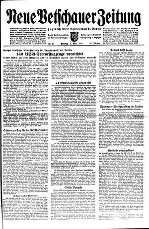 Neue Vetschauer Zeitung vom 08.03.1944