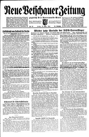 Neue Vetschauer Zeitung vom 10.03.1944