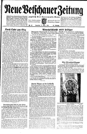 Neue Vetschauer Zeitung vom 11.03.1944