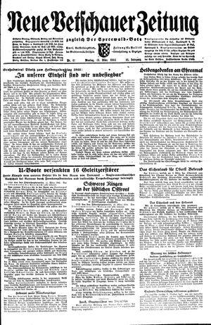 Neue Vetschauer Zeitung vom 13.03.1944
