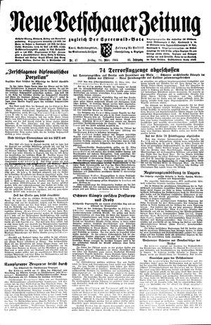 Neue Vetschauer Zeitung vom 24.03.1944