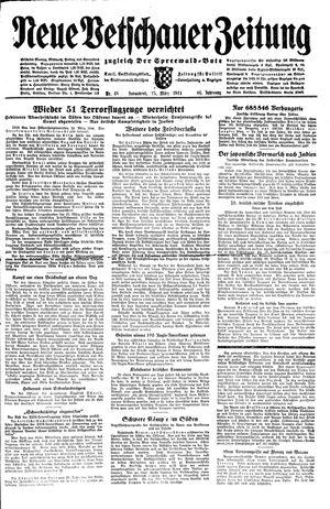Neue Vetschauer Zeitung vom 25.03.1944