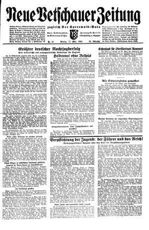 Neue Vetschauer Zeitung vom 27.03.1944