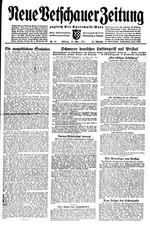 Neue Vetschauer Zeitung on Mar 29, 1944