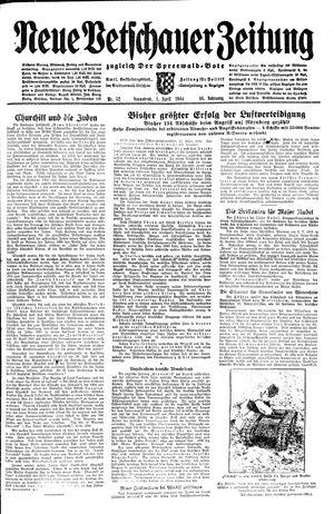 Neue Vetschauer Zeitung vom 01.04.1944