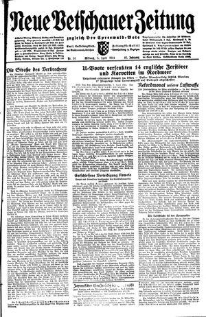 Neue Vetschauer Zeitung vom 05.04.1944