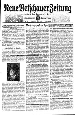 Neue Vetschauer Zeitung vom 17.04.1944