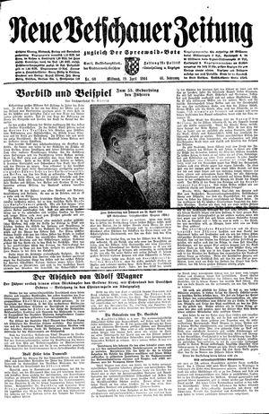 Neue Vetschauer Zeitung vom 19.04.1944