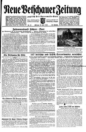 Neue Vetschauer Zeitung vom 26.04.1944