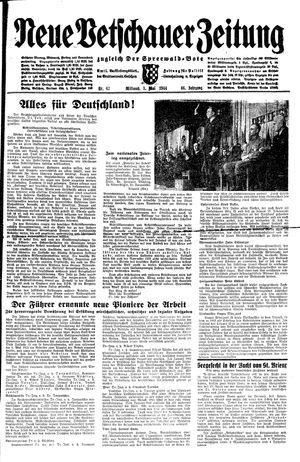 Neue Vetschauer Zeitung vom 03.05.1944