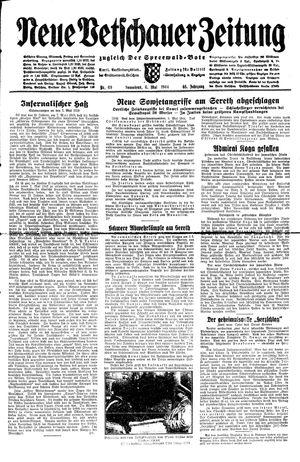 Neue Vetschauer Zeitung vom 06.05.1944