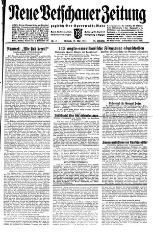 Neue Vetschauer Zeitung vom 10.05.1944