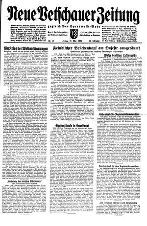 Neue Vetschauer Zeitung vom 12.05.1944