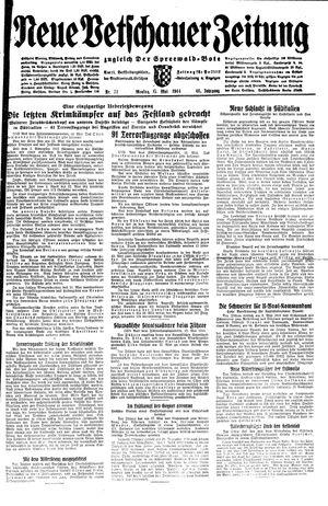 Neue Vetschauer Zeitung on May 15, 1944