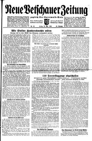 Neue Vetschauer Zeitung on May 26, 1944
