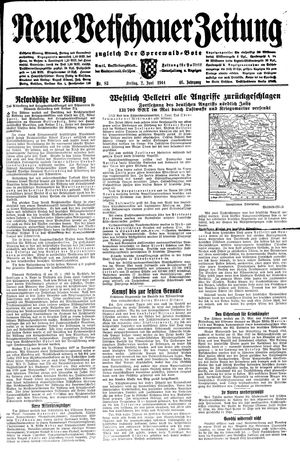 Neue Vetschauer Zeitung vom 02.06.1944