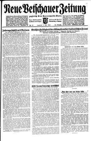 Neue Vetschauer Zeitung vom 03.06.1944